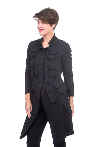 Rundholz DIP Many Pockets Jacket, Black