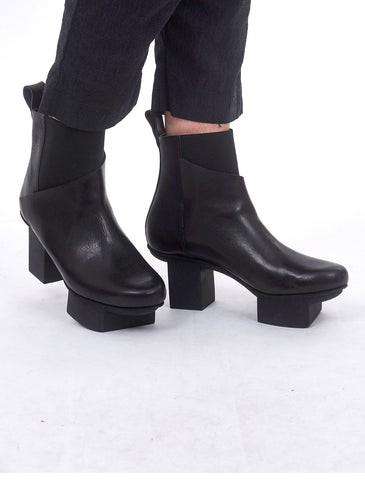 Trippen Shoes Panoply Happy Boot, Black