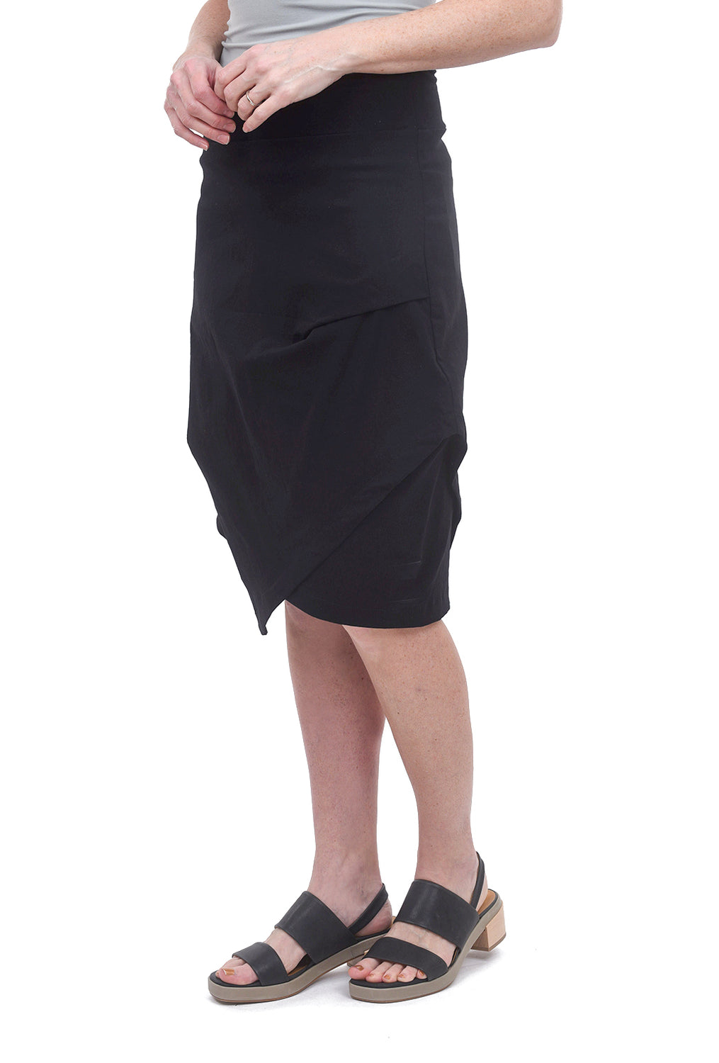 Porto Pout Skirt, Black