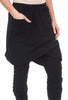 Rundholz Black Label Skirt-Over-Pants Pants, Black