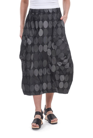 Gershon Bram Sorrel Dot Skirt, Black