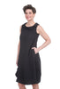 Niche Bricks Tile Dress, Black
