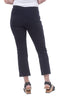 Equestrian Piped Cropped Miley Pants, Navy/White