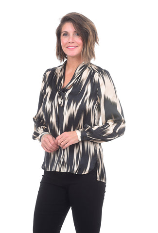 Summum Heartbeat Blouse Black