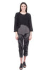 Skif International Omi Mix Knit Pullover, Black Melange One Size Black