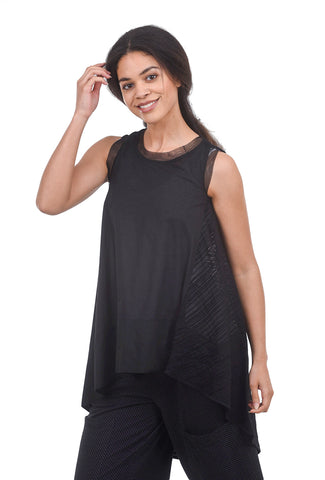 Gershon Bram Apple Top, Black