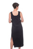 Wilt Square-Neck Midi Tank Dress, Black