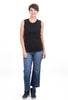 Commune Core Muscle Tank, Black