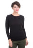 Commune Malibu Crewneck Tee, Black