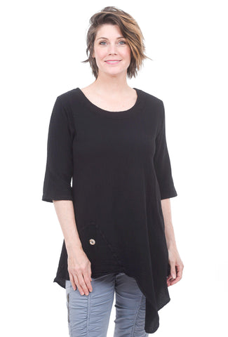 Cottonways Addison Tunic, Black