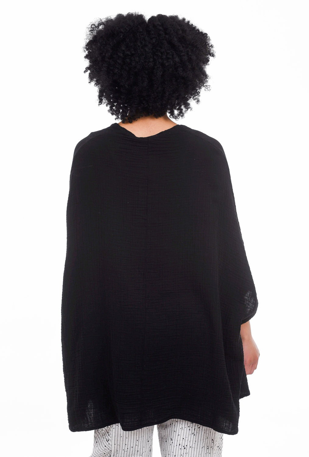 Stark x Full Body V Top, Black