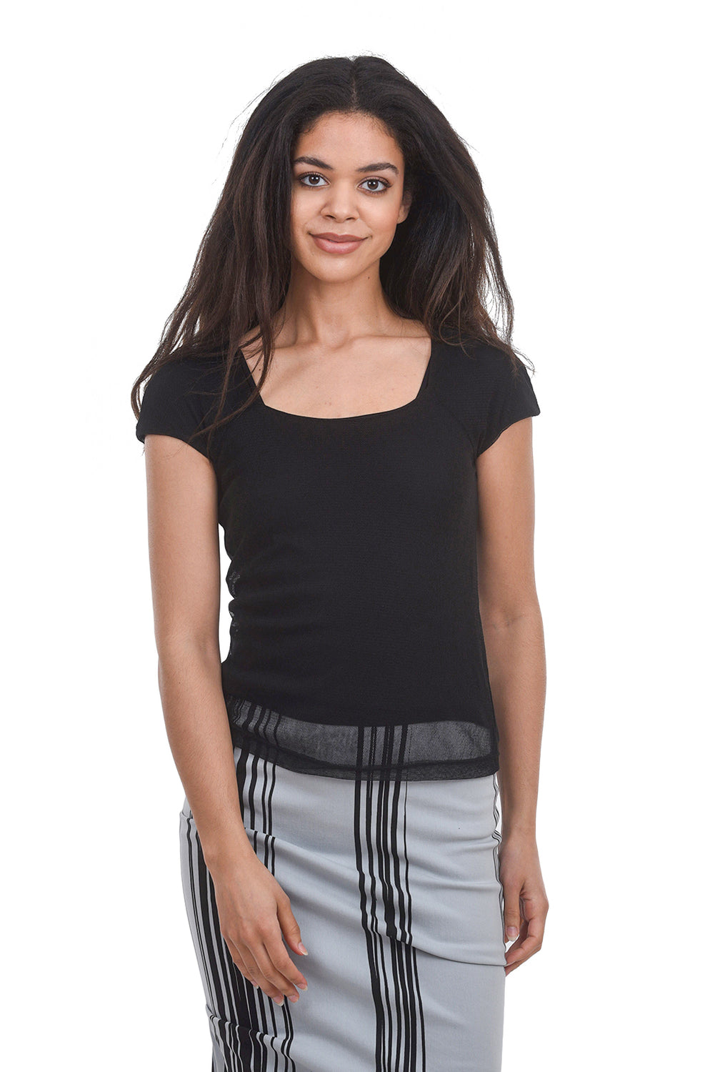 Porto Fanny Top, Black