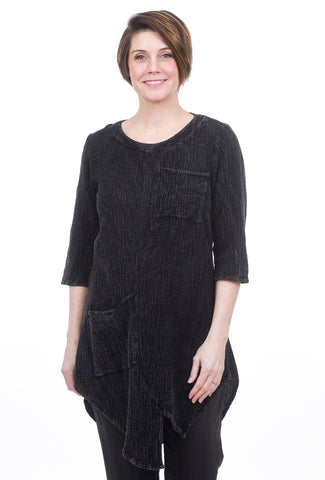 Cynthia Ashby Nissi Tunic, Black