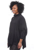 Planet Essential Swing Turtleneck, Black One Size Black