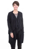 Oro Bonito Loop-Neck Jacket, Black One Size Black