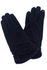 Santacana Madrid Tech-Touch Wool & Cashmere Gloves, Black One Size Black