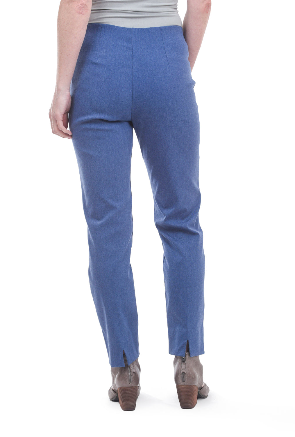 Equestrian Milo Pant, Blue Chambray
