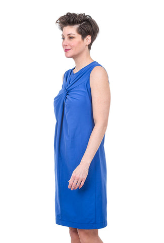 Veronique Miljkovitch Margot Soft Dress, Azure Blue