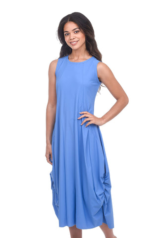 Jason by Comfy USA London Dress, Cornflower Blue