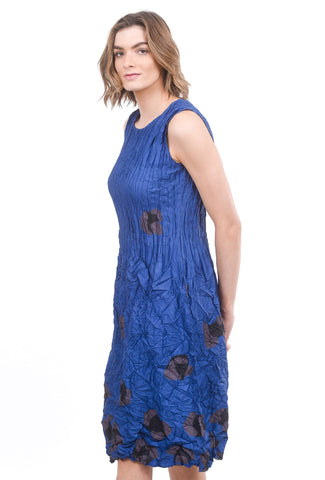 Alquema Smash Pocket Dress SS20, Royal Blue Spot