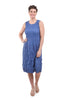 Alquema Smash Pocket Dress, Ash Blue
