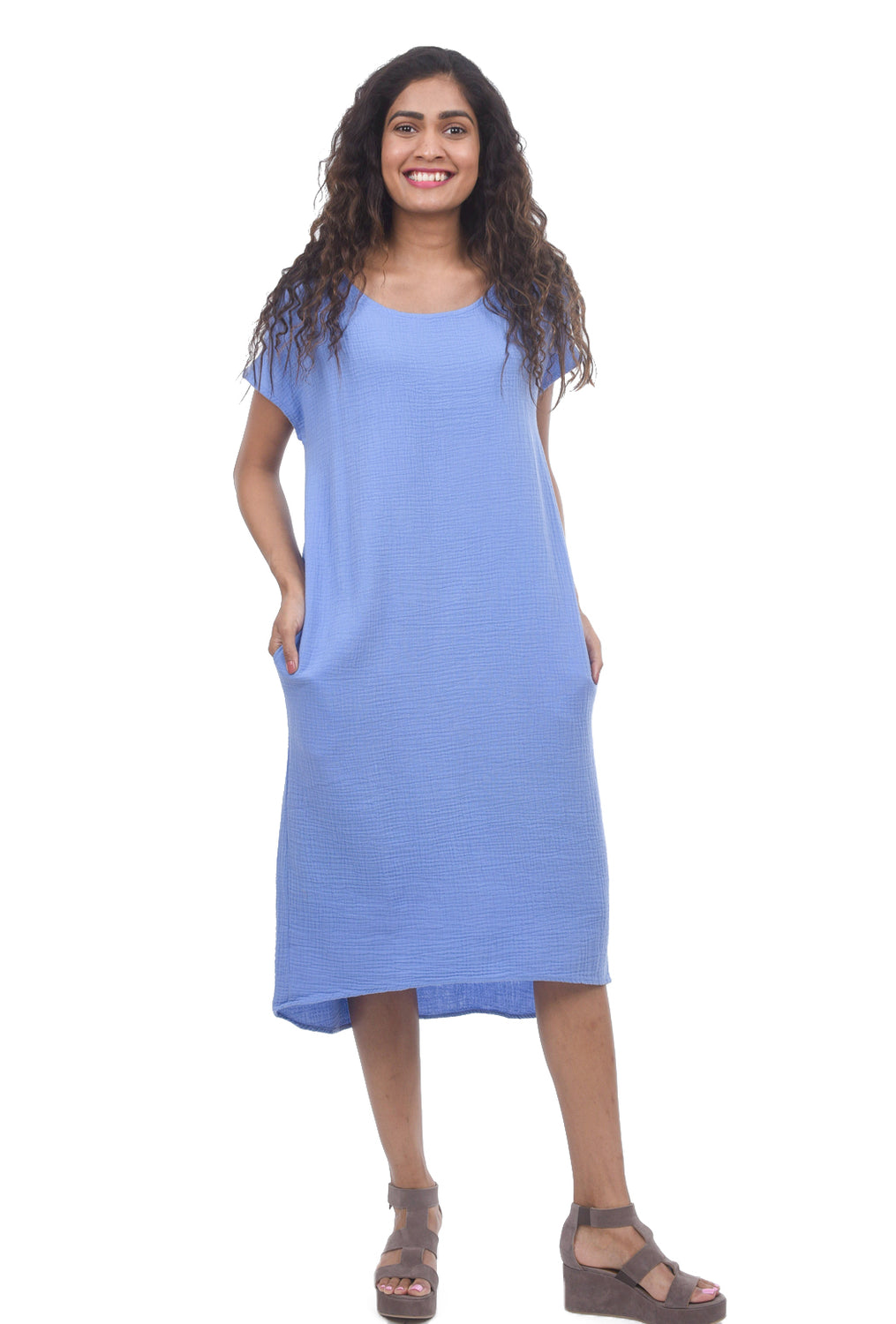 Filosofia Brooke Dress, Blue