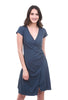 Prairie Underground Close Dress, Atlantic Blue