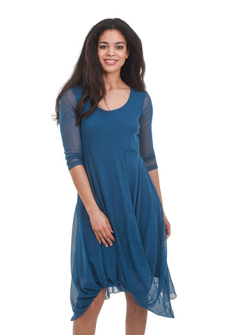 Porto Athena Dress, Capri Blue