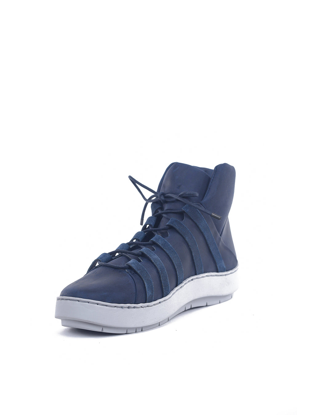 Trippen Shoes Ladder Swan Sneakers, Navy Pul