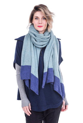 Isobel & Cleo I&C Scarf, Evergreen One Size Teal