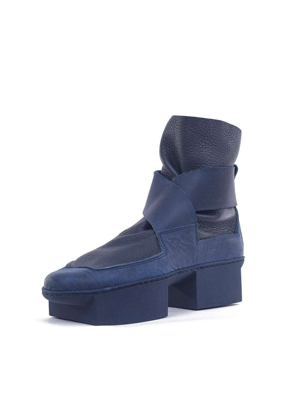 Trippen Shoes Spatula Box Bootie, Navy