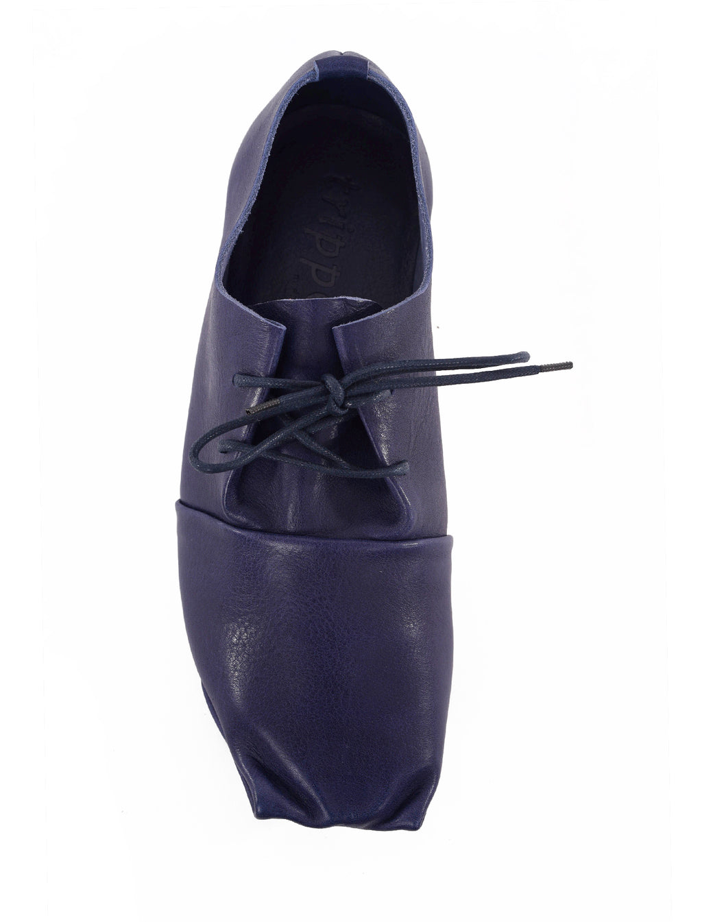 Trippen Shoes Bounce Penna Oxford, Blue Waw