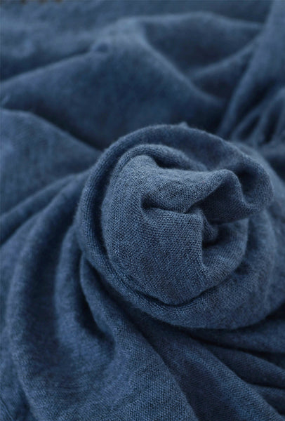 Grisal Cashmere 'Love' Scarf, Gray Blue One Size