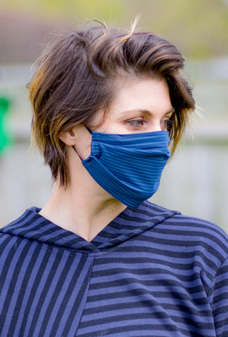 Porto Porto Face Masks, JJ Blue Stripe