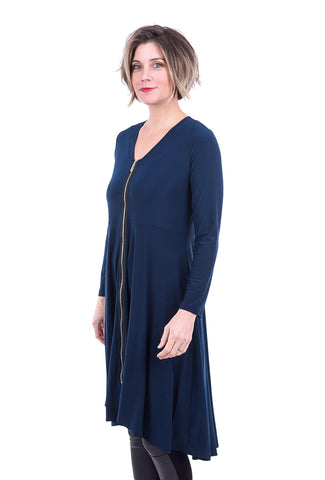 Sun Kim Phoenix Dress, Denim Blue