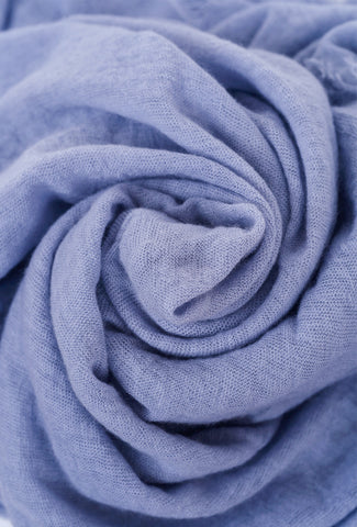 Grisal Cashmere Love Scarf, Periwinkle One Size Periwinkle