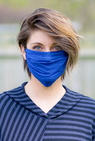 Uzi NYC Uzi Face Mask, Blue
