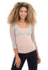 Sleevey Wonders Basic 3/4-Sleeve Mesh Sleevey, Silver