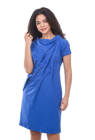 Veronique Miljkovitch Davina Soft Dress, Azure Blue