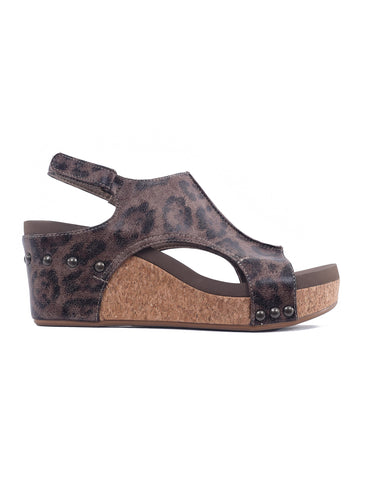 Corkys Carley Sandals, Leopard