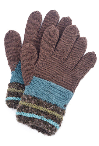 Little Journeys Gloves, Monet Brown