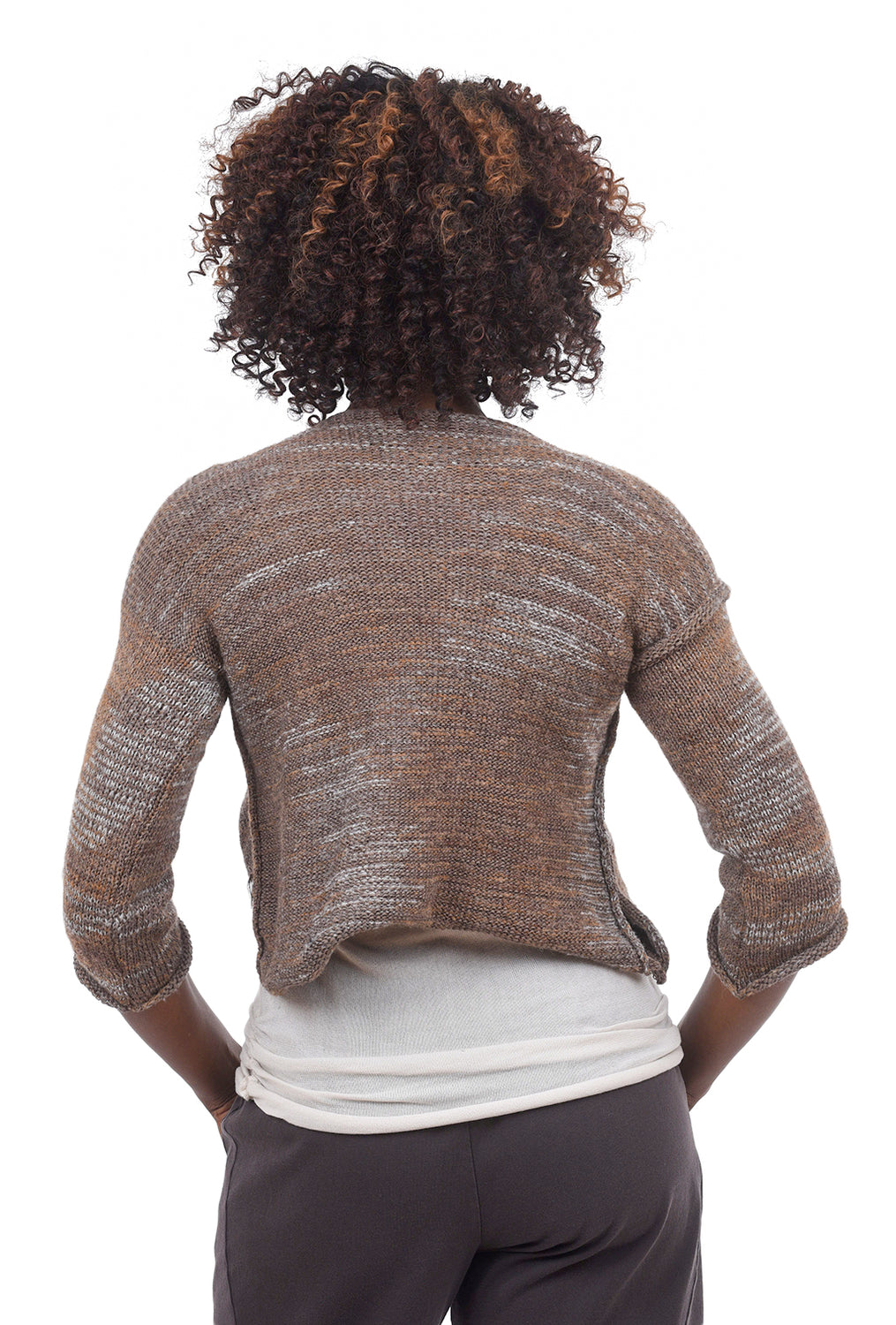 Skif International Omi Sweater, Rust/Pewter Space One Size Rust