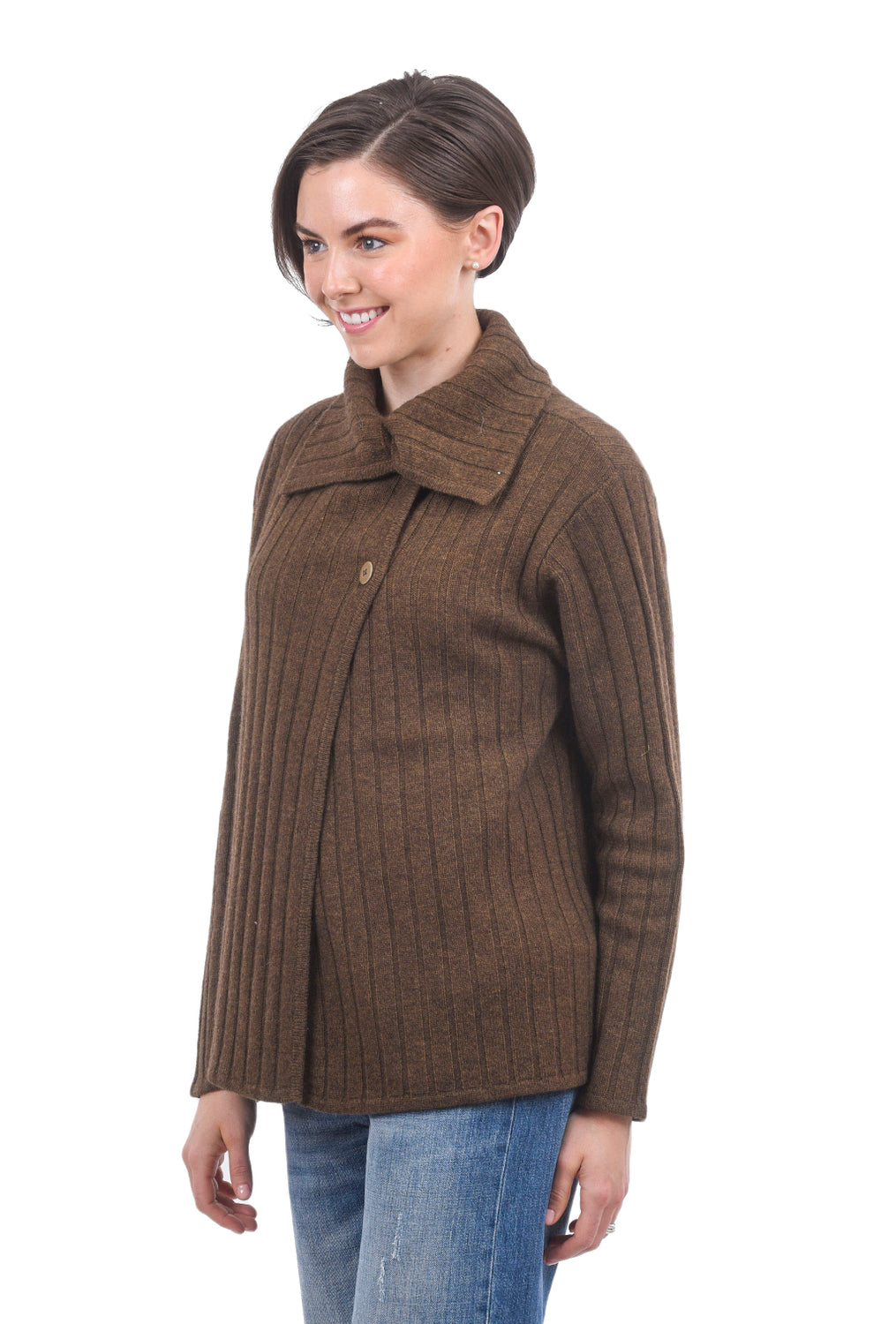 Two Danes Yachi Cardigan, Spicy Mustard