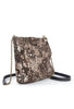 Kim White Frame Shoulder Bag, Brown Mudsplash Brown