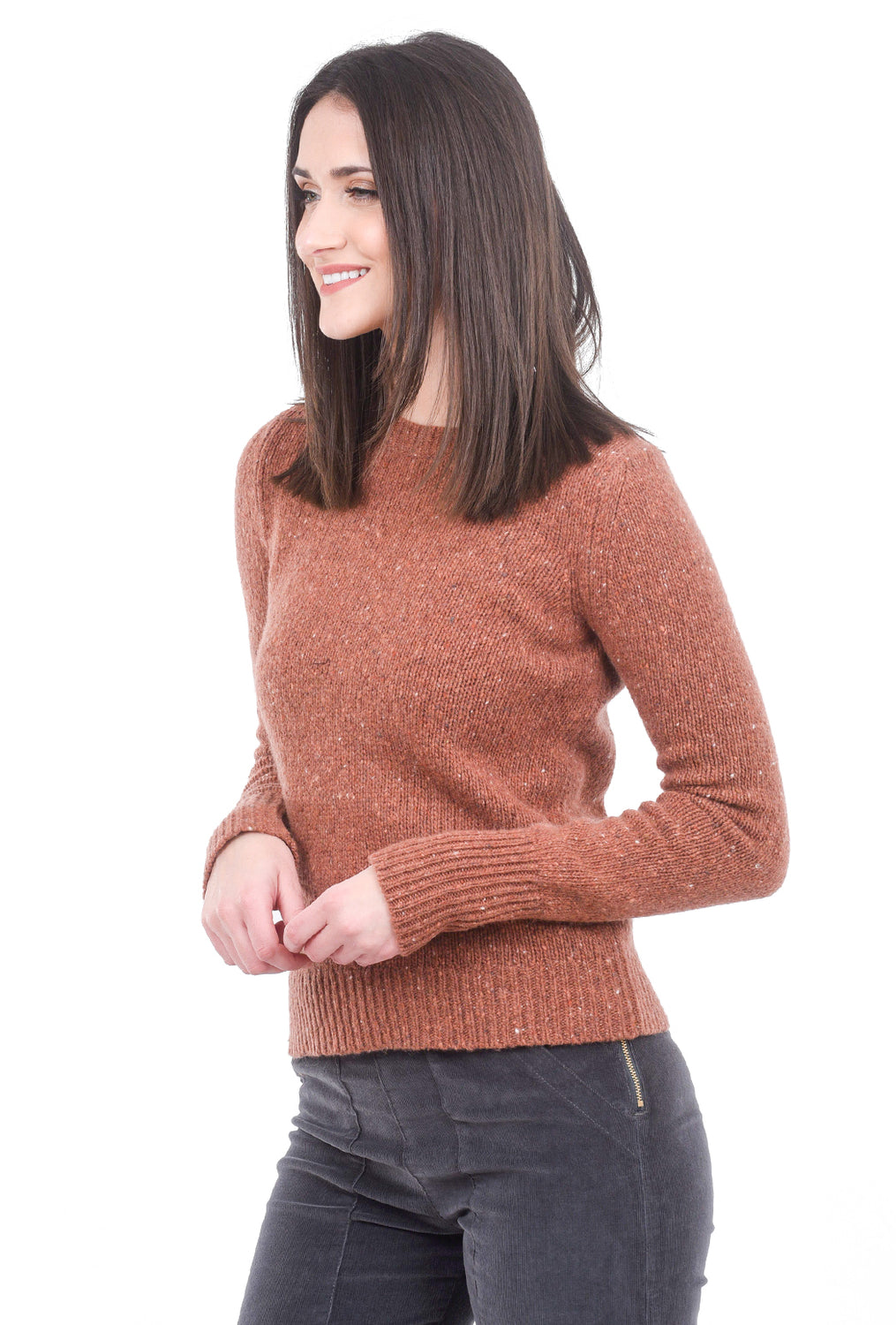 Margaret O'Leary Knits Killian Pullover, Maple