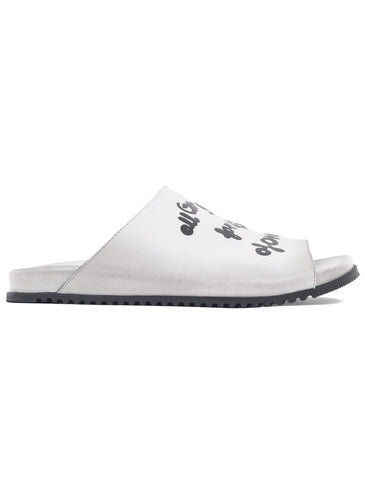 Rundholz Black Label Type Sandals, White