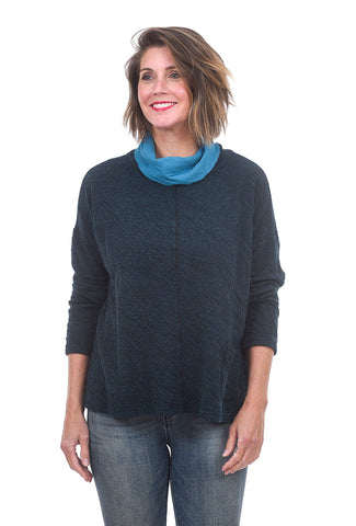 Cut Loose Funnel Double-Char Pullover, Gulfstream One Size Gulfstream