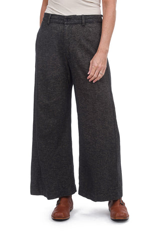 CP Shades Flannel Polly Pants, Marled Charcoal