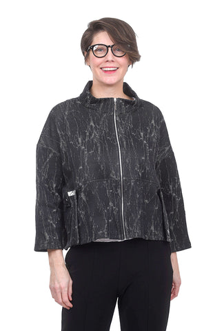 Comfy USA Ponte Chloe Jacket, Char Berlin
