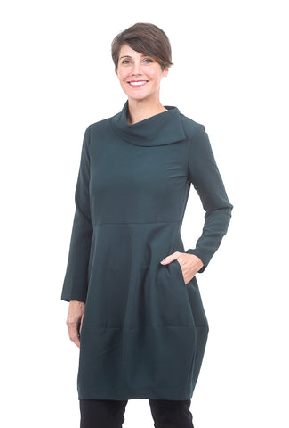Niche Roma Whisper Dress, Evergreen